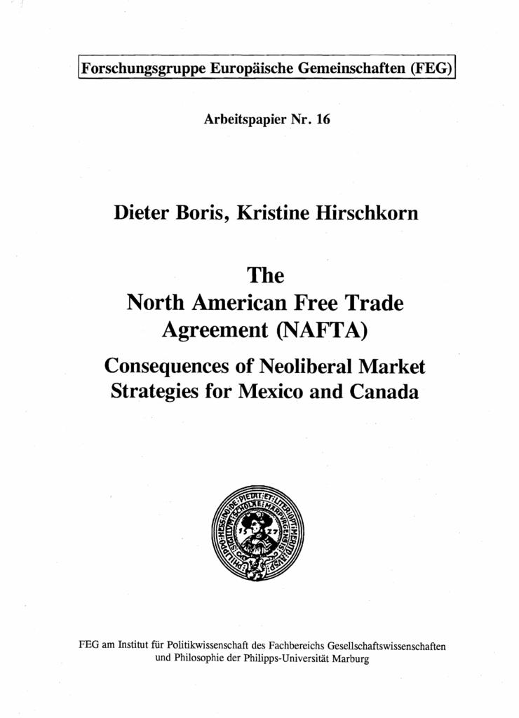 nafta thesis statement