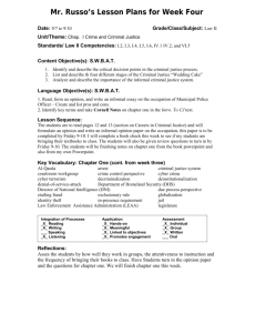 SIOP® Lesson Plan Template 1