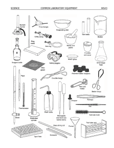 SCIENCE COMMON LABORATORY EQUIPMENT WS#3 - youngs-wiki