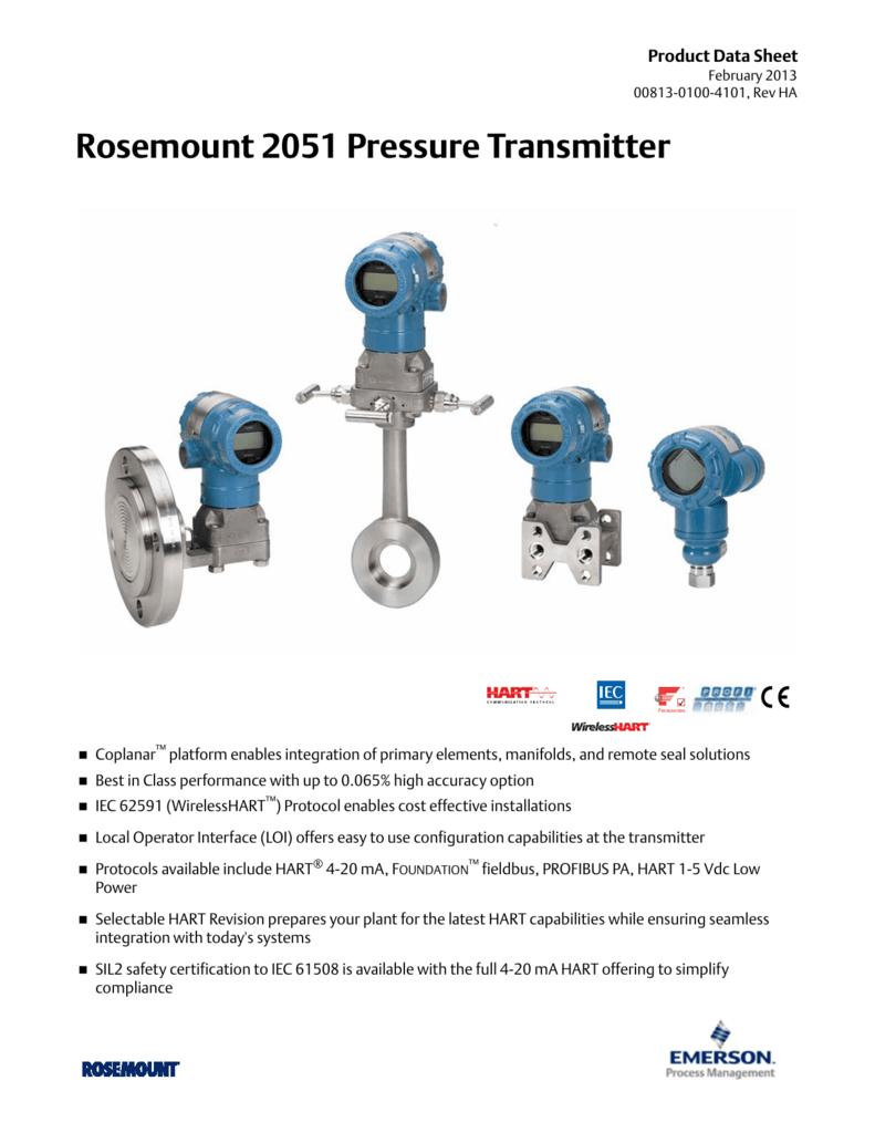 Rosemount 2051 Wiring Diagram Trusted Diagrams 3051s Pressure Transmitter Vs 3051