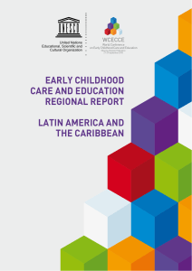 Early childhood care and education, Regional report