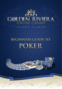 Poker 1 - Golden Riviera Online Casino