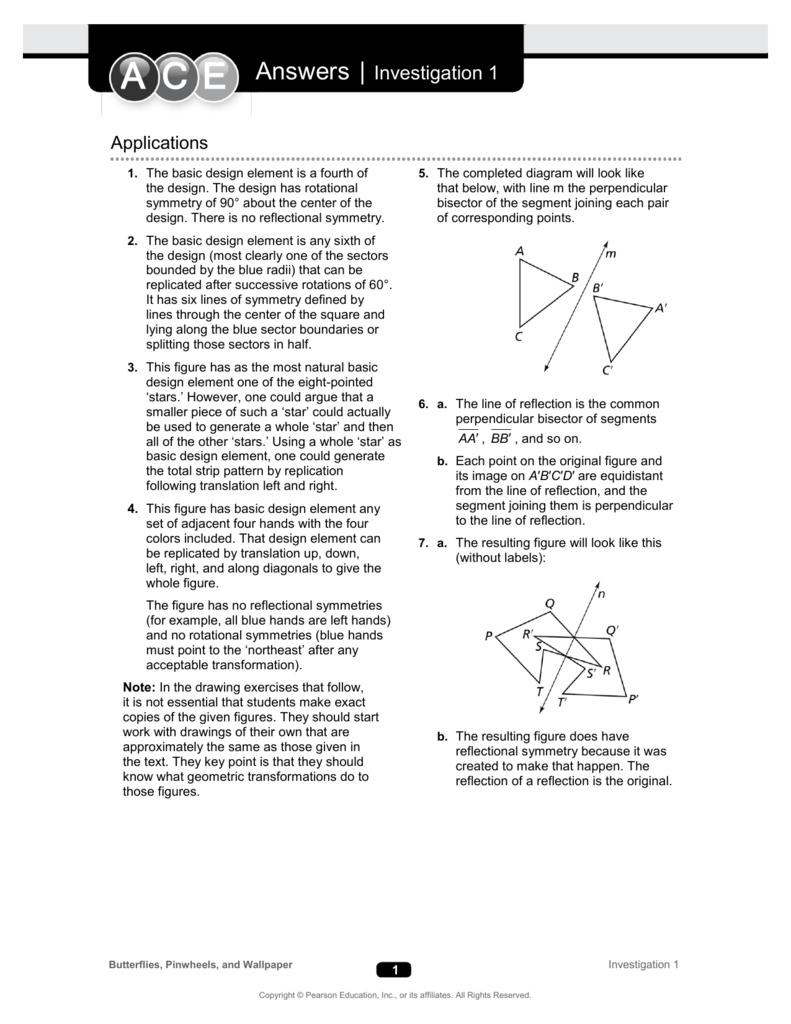 investigating geometric transformations