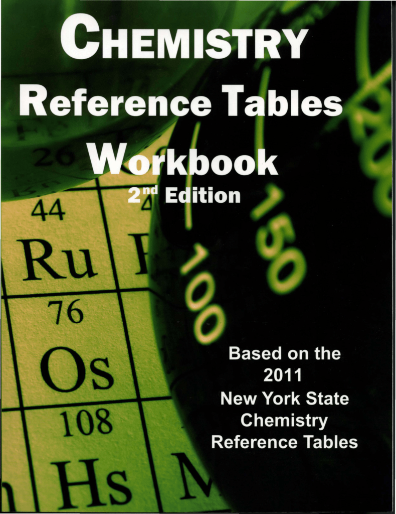 Chemistry reference tables workbook 2nd edition set 2 answers 50 each isbn 978 1 929099 92 4 chemistry reference table workbook 2nd edition answers chemistry reference table workbook 2nd edition answers mini fandeluxe Image collections