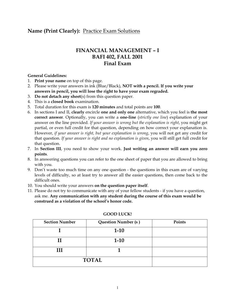 ... Array - practice final exam solutions rh studylib ...