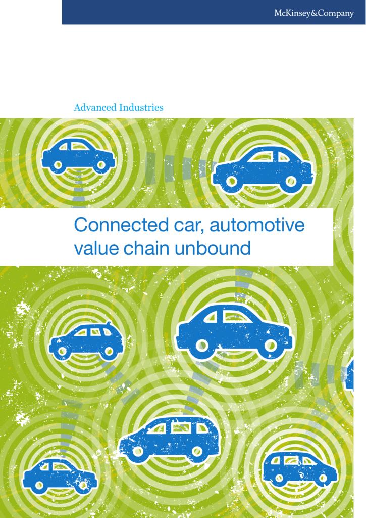 Connected car, automotive value chain unbound