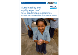 Sustainability and equity aspects of total sanitation