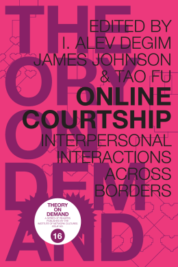 online courtship - Institute of Network Cultures