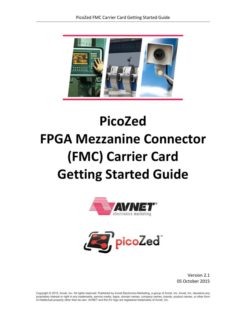 picozed fmc carrier card getting started guide v2 1 rh studylib net