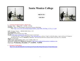 671 fall 2014 course syllabus