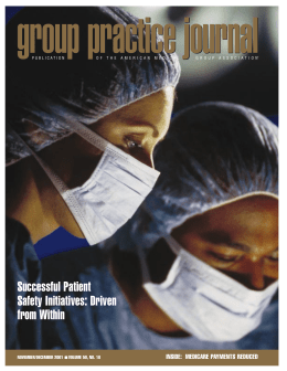 Successful Patient Safety Initiatives: Driven from Within