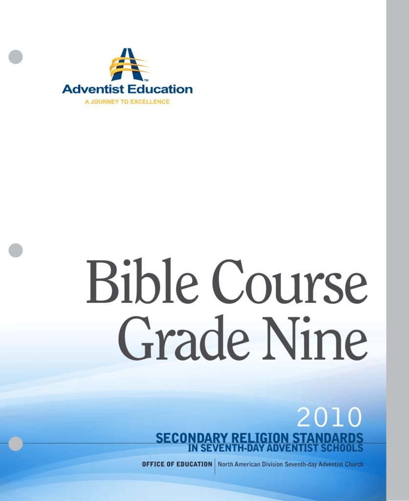 Grade 9 - Adventist Education