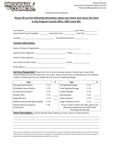 Please fill out the following information about