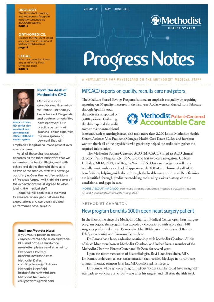 MPCACO reports on quality, recruits care navigators New program