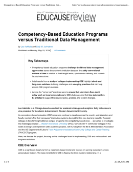 Data Management Article – May2014