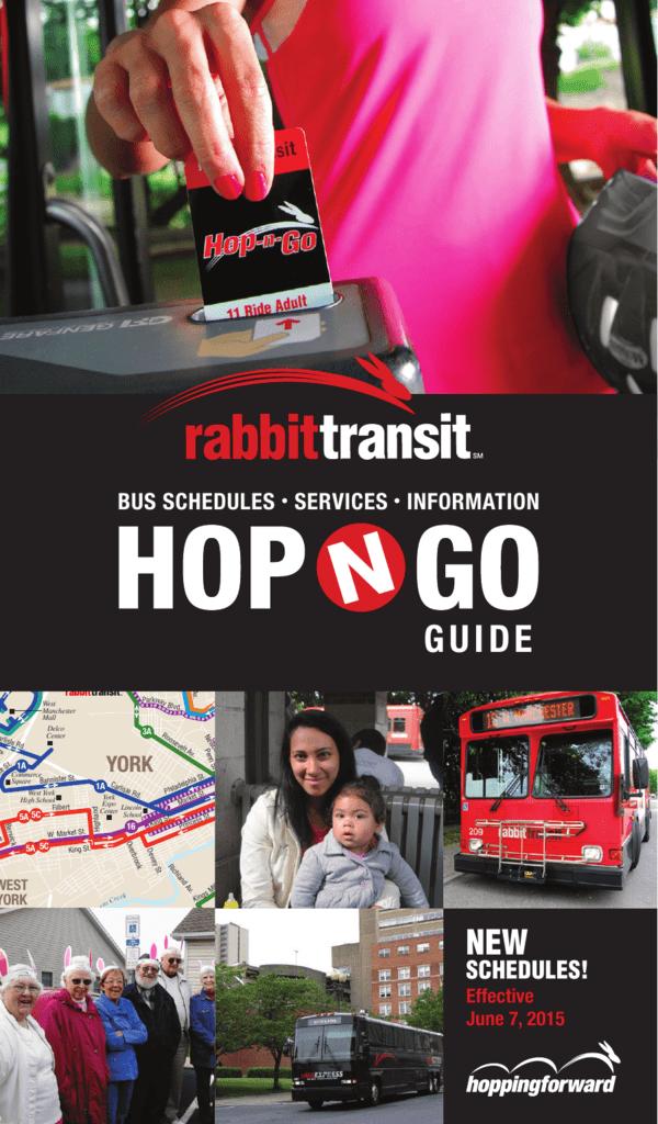 SCHEDULES! - Rabbit Transit