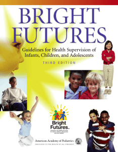 An Introduction to the Bright Futures Health Promotion Themes