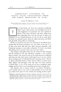 Biderman's Principles - National Security Archive