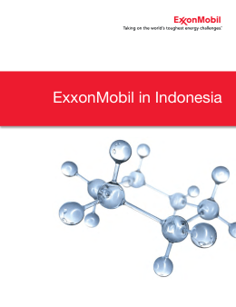 ExxonMobil in Indonesia