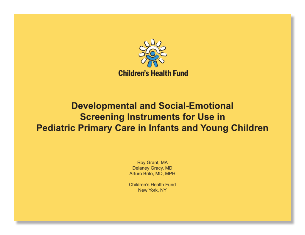 Developmental and social emotional screening instruments for use nvjuhfo Images