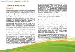 Chapter 5. Social Sector