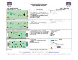 Principles of Attack - San Tan Youth Soccer Association