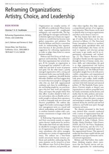 Reframing Organizations 4th Edition Pdf