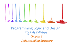 Programming Logic and Design Eighth Edifion