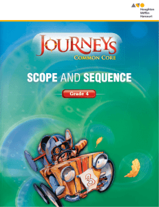 Scope and Sequence SCOPE AND SEQUEN…