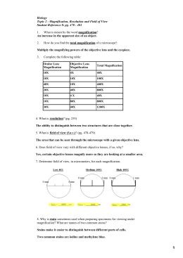 science 10 microscope worksheet. Black Bedroom Furniture Sets. Home Design Ideas
