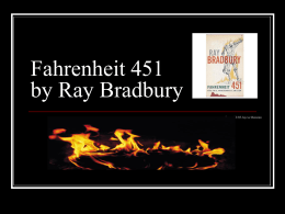 Fahrenheit 451 introductory Power point