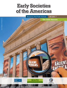 Early Societies of the Americas