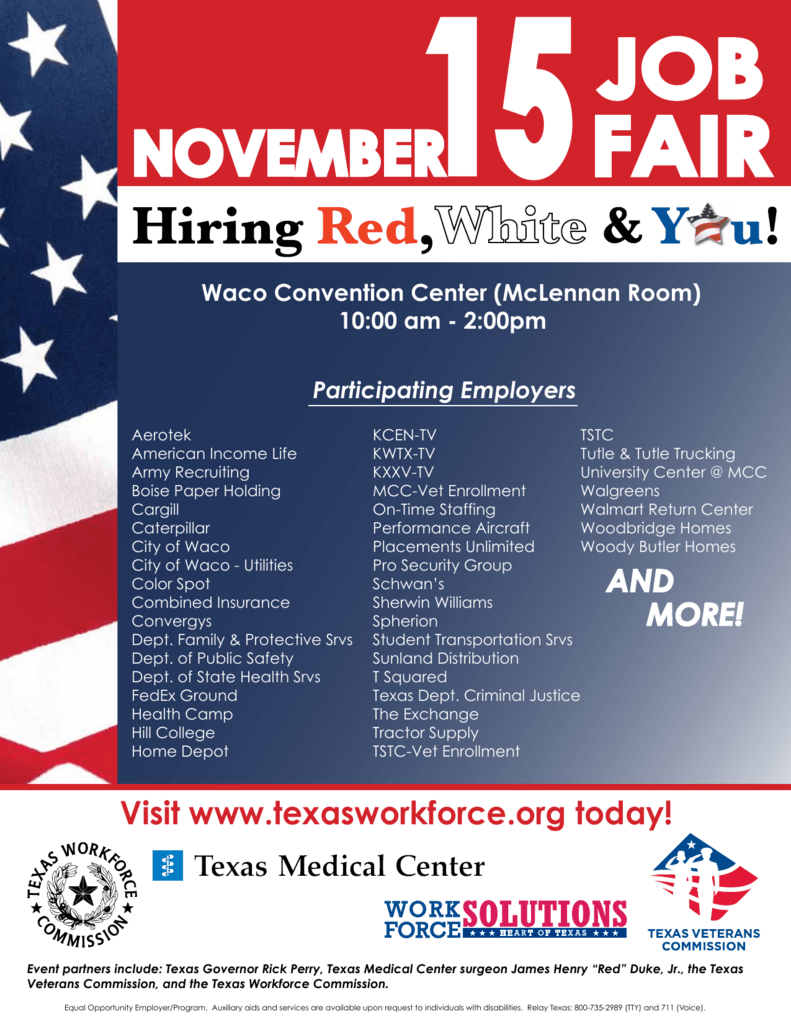 HEART OF TX RWY Participating Employers 110712