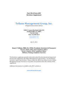 Tellone M up, Inc. anagement Gro