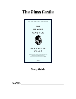 """""""The Glass Castle"""" by Jeannette Walls Essay Sample"""