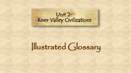 River Valley Illustrated Glossary