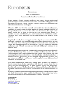 Press release France's undeclared war continues France remains