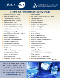 E-Subro Hub Participating Company Groups