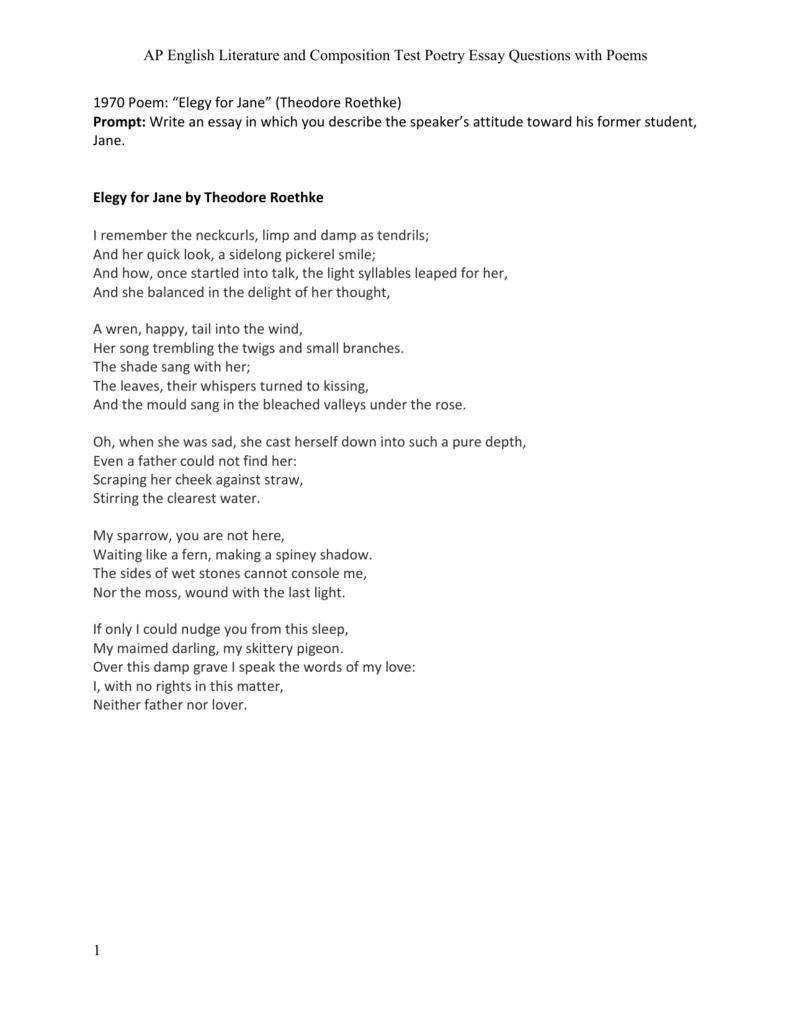 poetry questions and poetry questions and