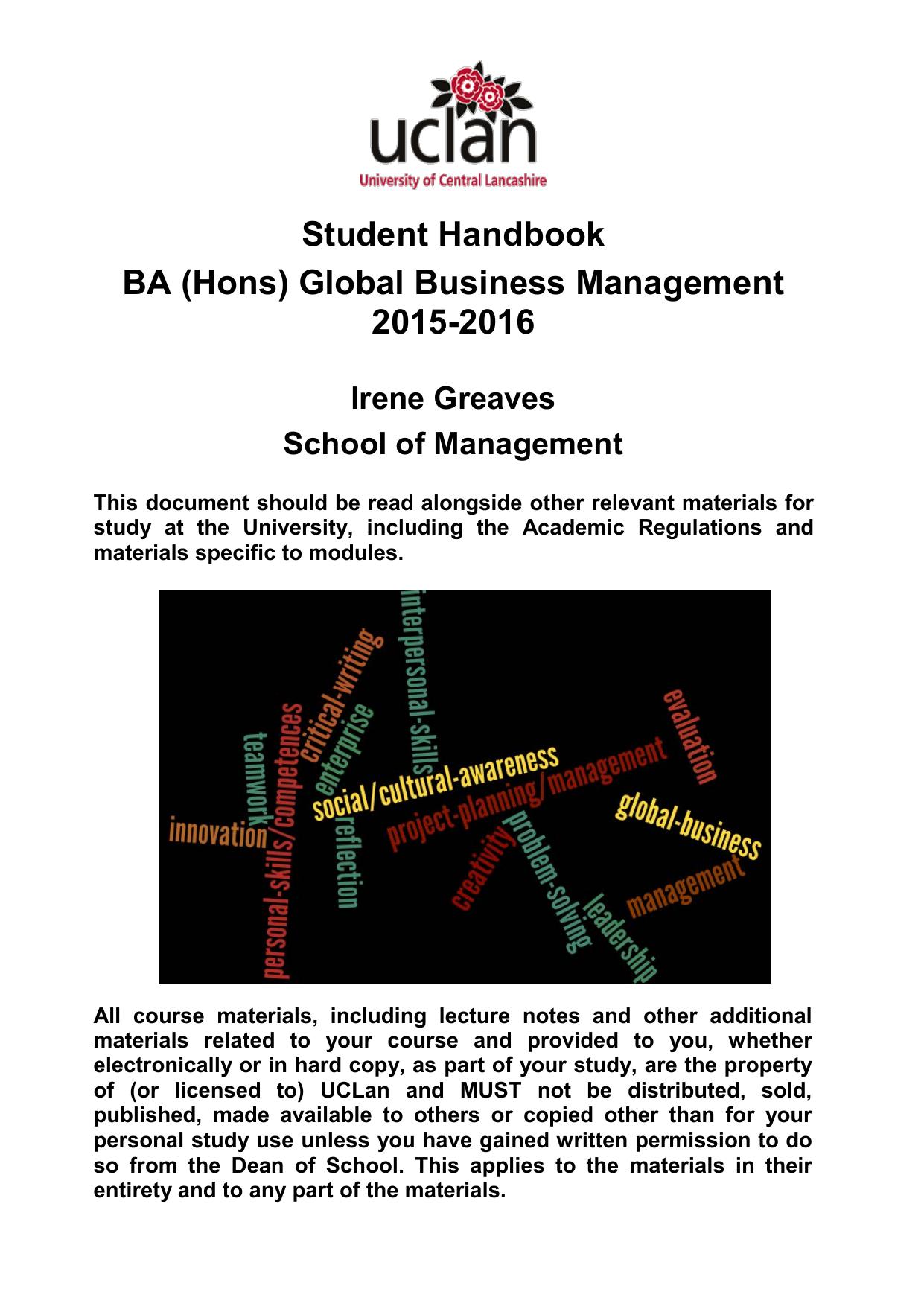 uclan dissertation handbook