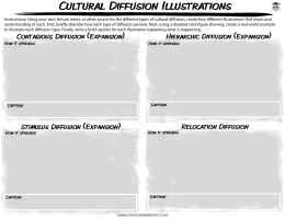 Cultural Diffusion Illustrations