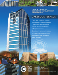 Oakbrook Terrace ED Partnership Brochure