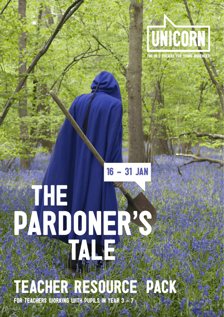 what does the pardoner claim to sell