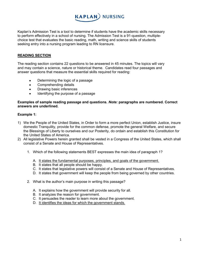 Admission college essay help kaplan