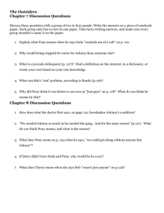 The Outsiders Chapter 7 Discussion Questions Chapter 8