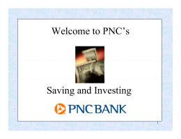 PNC Saving and Investing
