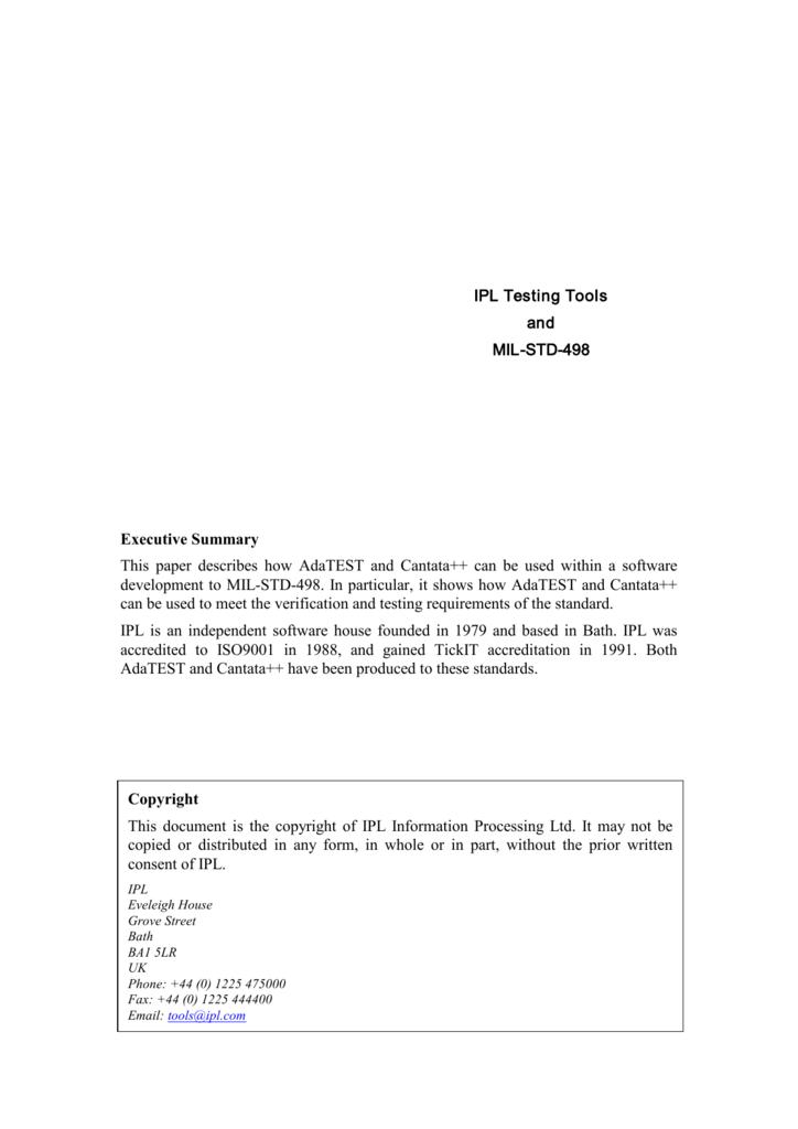 498 mil pdf std