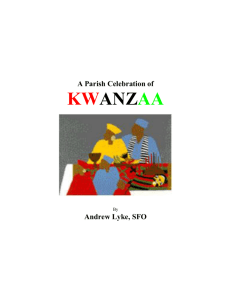 A Parish Celebration of Kwanzaa
