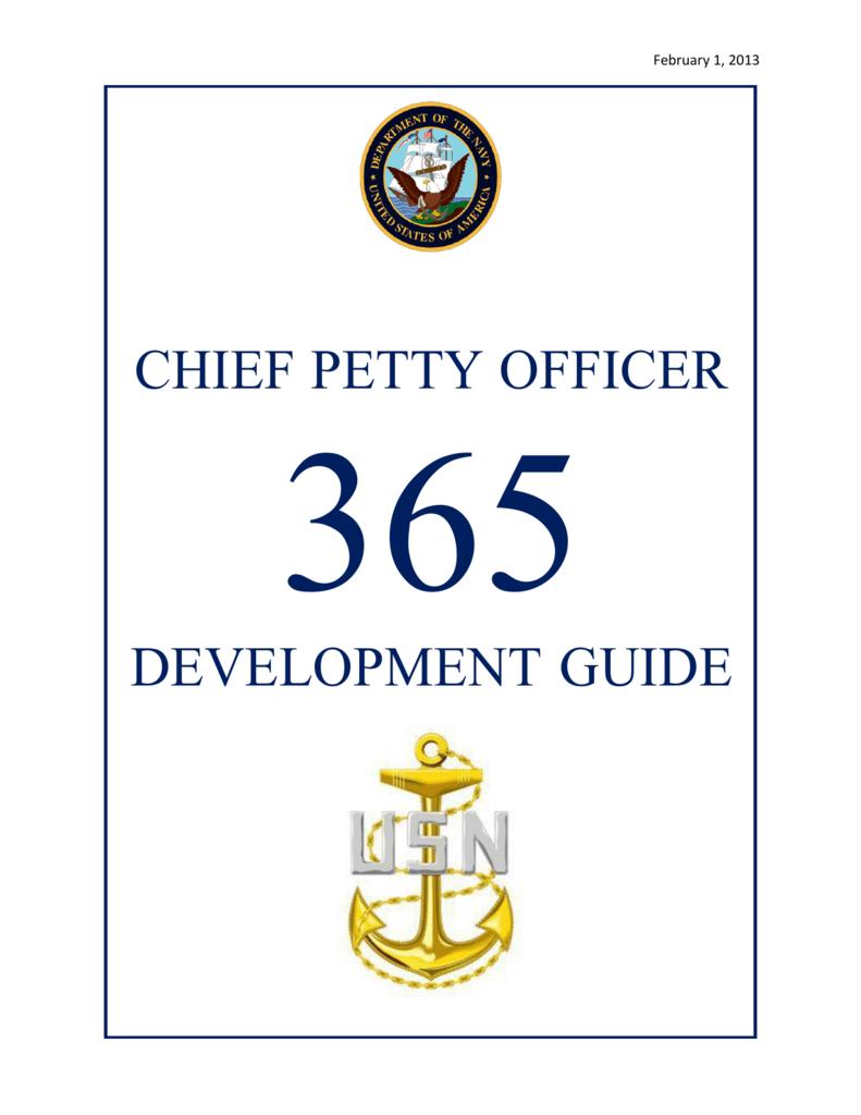 558b551c CHIEF PETTY OFFICER DEVELOPMENT GUIDE