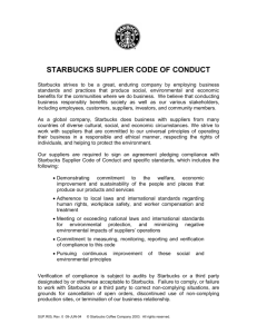 SUP.R05 Supplier Code of Conduct
